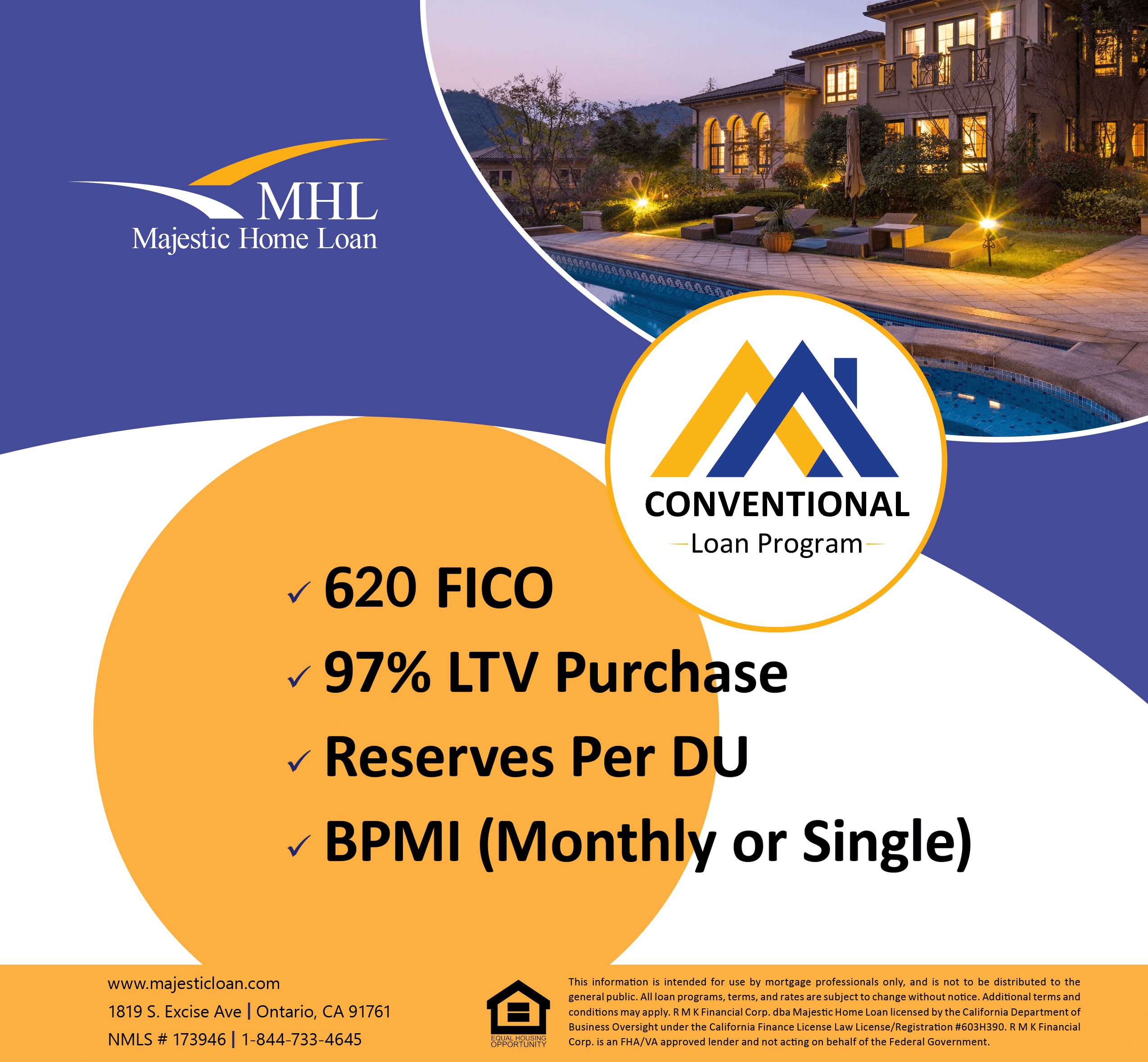 Conventional Mortgage-wholesale